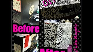 ☆ZEBRA Contact Paper Project Box☆