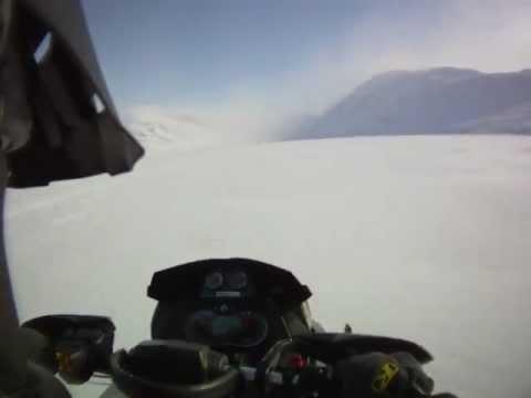 FPP Renegade X 1200 Turbo 187kmph Top Speed test helmet cam