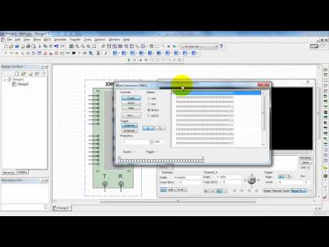 NI Multisim: Word Generator digital sequences