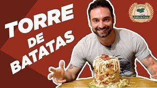DESAFIO #18 - Torre de batatas (2.5kg, ~7000kcal)