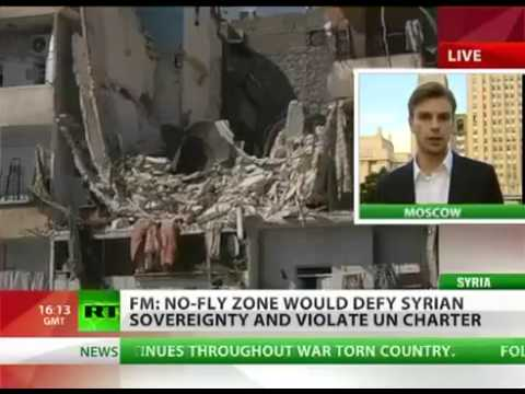 Russia FOREIGN MINISTER announce No FLY ZONE SYRIA will cause CATASTROPHE, WW3?