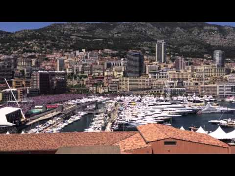 2013 Monaco GP Rocher - Grand Prix View