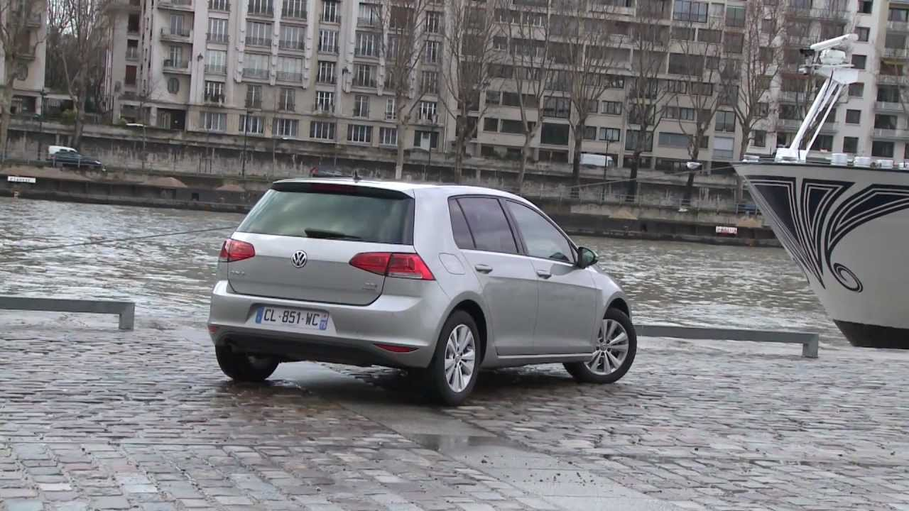 essai volkswagen golf 1 6 tdi 105 confortline 2012 youtube. Black Bedroom Furniture Sets. Home Design Ideas
