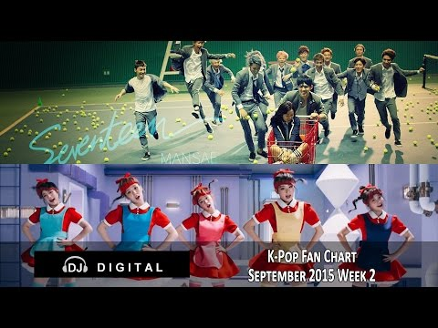 Top K-Pop Songs Chart (Fan Chart) - September 2015 Week 2 #1