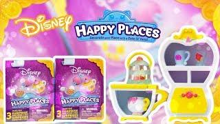 Shopkins Disney Belle Home Decor Happy Town House Play Set | Happy Places Blind Bags | Shoppies