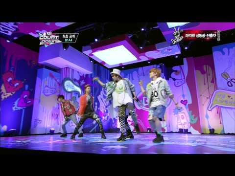 �P�09 B1A4 - Yesterday & What's Going On @Comeback Stage