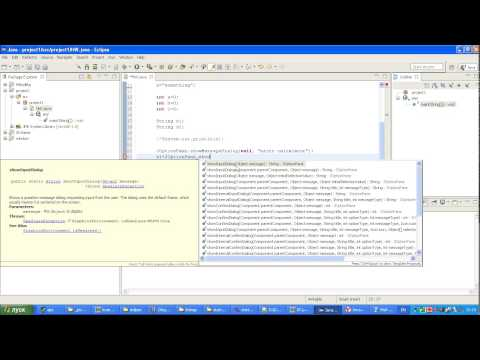 Java + Eclipse и создание игр: Урок 2 - SNAPTUBE - Video YouTube