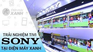 Phỏng vấn : Khách hàng trải nghiệm tivi Sony tại Điện máy Xanh | Điện máy XANH