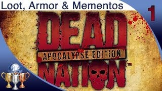 Dead Nation (PS4) - The Beginning - All Loot, Armor & Mementos Collectibles Locations [Part 1]