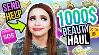 OMG… 😫 1000$ XXL BLACK FRIDAY BEAUTY HAUL 💸 #24DaysOfChristmas
