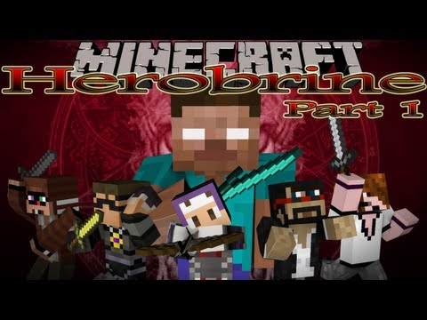 Minecraft: The Herobrine Mini Game Part 1- Herobrine POV