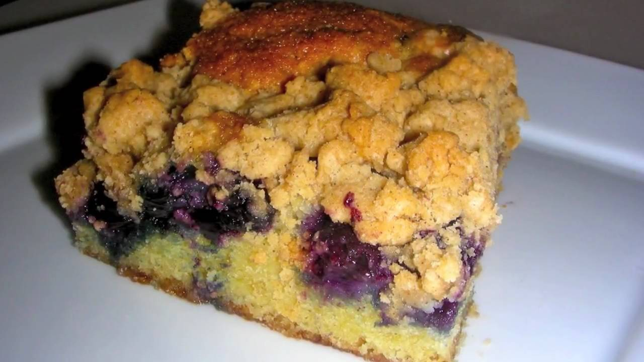 Vanilla And Blueberry Buttermilk Crumb Cake Recipes — Dishmaps
