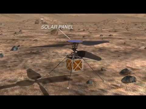 NASA is working on a helicopter for future Mars missions