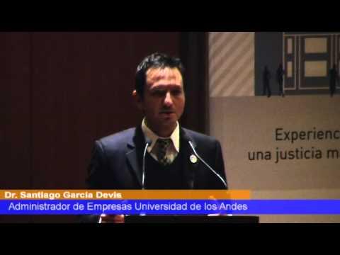 Primera Conferencia de Justicia y TIC, Dr. Santiago Garcia Dervis