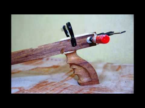 Wooden Speargun Homemade