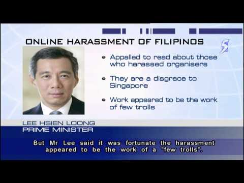 PM Lee appalled by harassment over Philippine Independence Day event - 19Apr2014