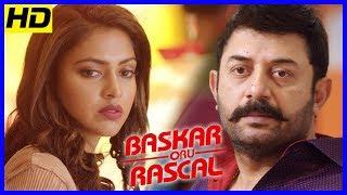Bhaskar Oru Rascal Scenes | Amala Paul recollects her past to Baby Nainika | Arvind Swamy