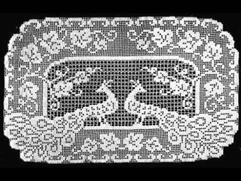 Ажурное вязание.вязание крючком.филейное вязание