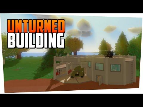 Как сделать железные стены в unturned