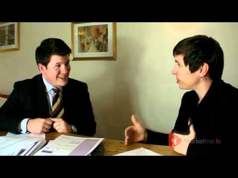PTVS - Video 1 - Estate Agent interview by Kate Faulkner.