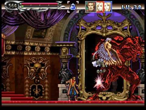 Castlevania Dawn Of Sorrow Julius Mode Final Boss