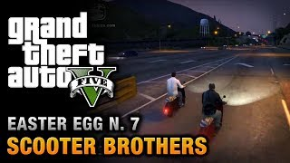 GTA 5 - Easter Egg #7 - Scooter Brothers!