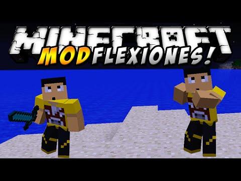 Minecraft - FLEXIONES MOD (Ahora sí, parece samurai!) - ESPAÑOL TUTORIAL