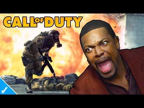 The Celeb Gamer - Chris Tucker plays MW3
