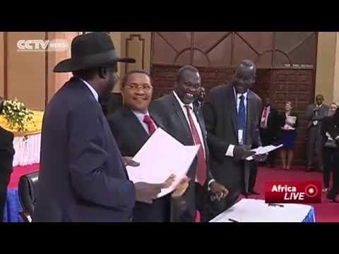 South Sudan Peace Deal: Kiir, Machar Agree To Re-Unify Party And Heal War Wounds