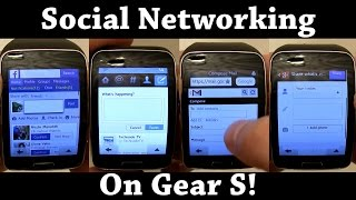 How to get Gmail, Facebook, Twitter, Google+ and more on the Samsung Gear S!