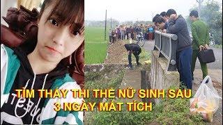 Phát hiện T.T n,ữ sih lớp 10 sau 3 ngày không về nhà ở Nam Định