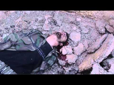 İŞİD terroçuları tərəfindən öldürülən Suriya əsgərinin son anda dedikləri