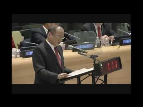 U.N. CLIMATE SUMMIT PLENARY 2014