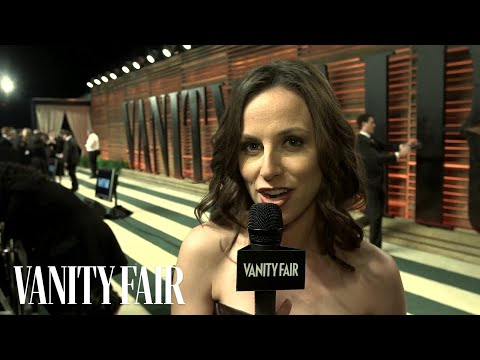 Host Alicia Menendez at the 2014 Vanity Fair Oscar Party-V.F. Academy Awards Party