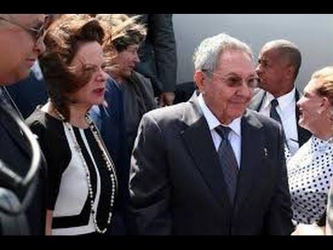 Llega Raúl Castro a Costa Rica para asistir a III Cumbre de la CELAC