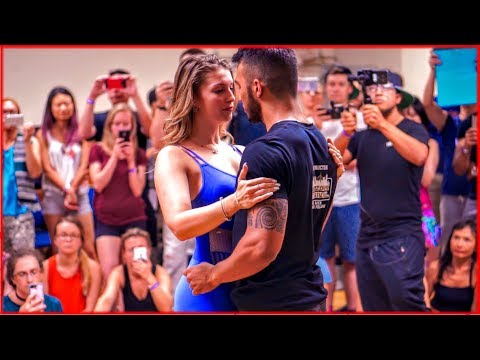 Layssa Liebscher & Arthur Santos - Improvised Zouk Dance at the 2017 New York City Zouk Festival