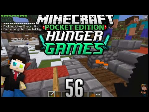 Minecraft: Pocket Edition Hunger Games - Episode 56 - Going Bowling