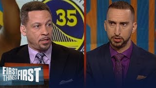 Chris Broussard: All signs point to Kevin Durant heading to the Knicks | NBA | FIRST THINGS FIRST