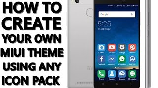 How to create your own MIUI Theme using any icon pack