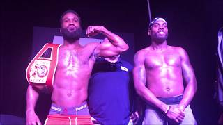 Brandon Robinson vs Kalvin Henderson heated weigh in