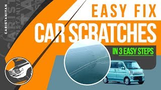 Fix Accident scratches for free | Caristaniyan | DIY