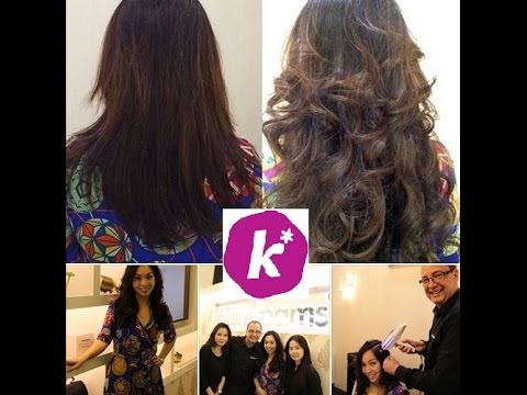 Kiss92 radio reports about Hairdreams Singapore