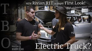 New 2020 Rivian R1T in depth First Look!