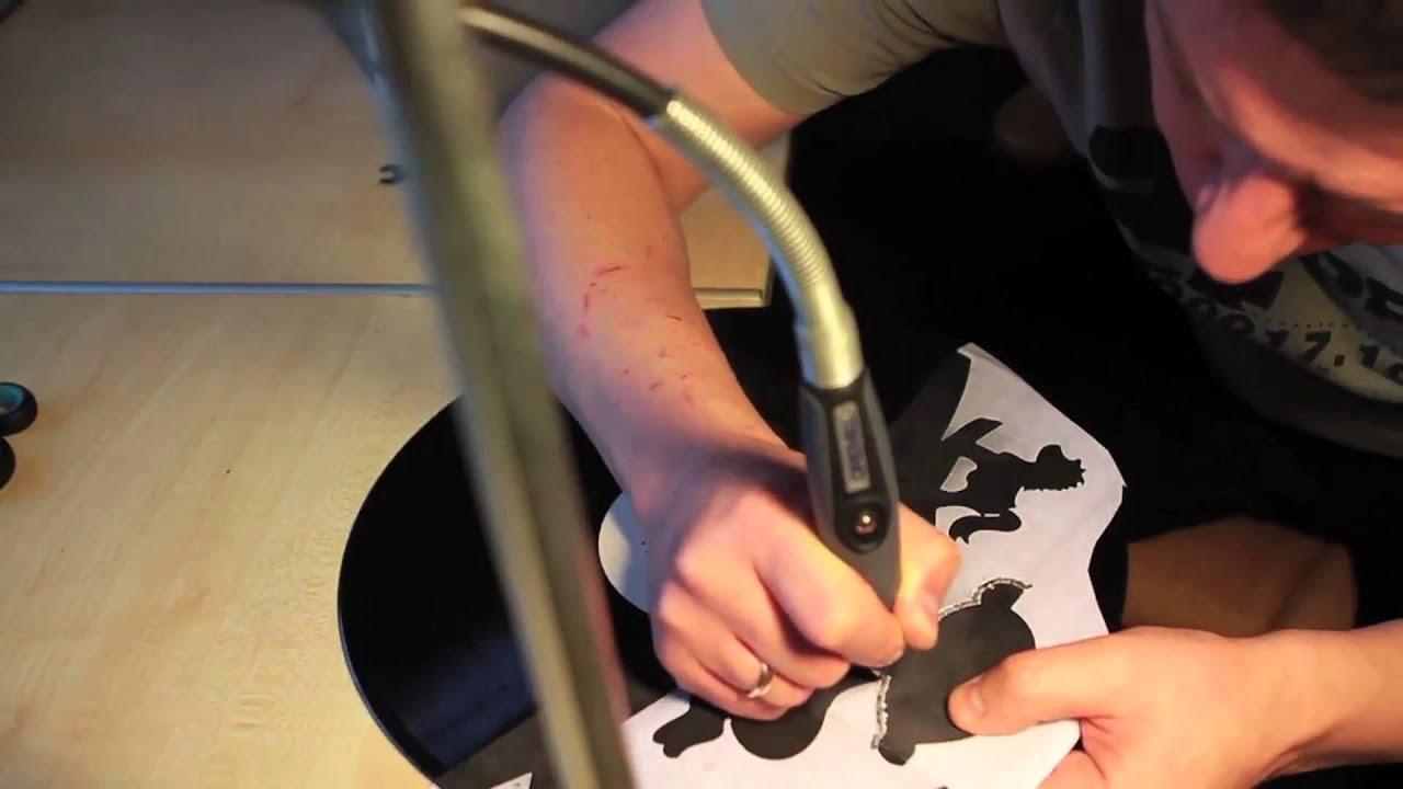 Как сделать из виниловых пластинок своими руками 246