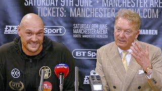 """WILDER! JOSHUA! THEY'RE ALL BUMS..!"" Tyson Fury Post Fight REACTION vs. Sefer Seferi"