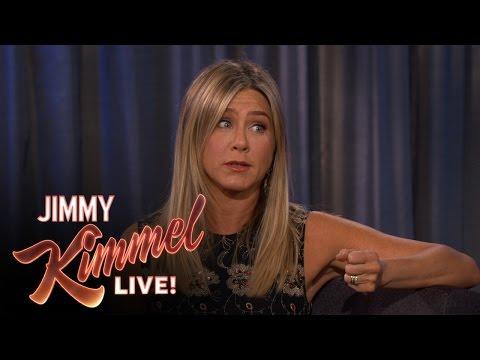 Jennifer Aniston Caught Stealing