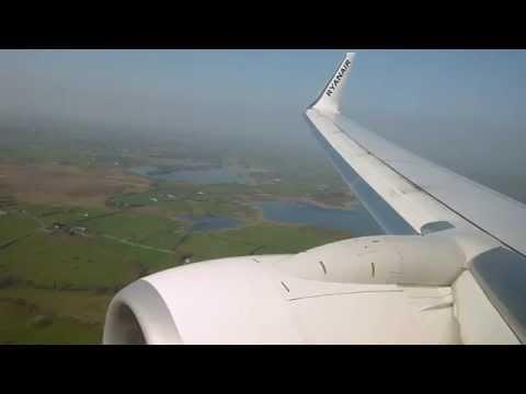[HD] | RYANAIR | Boeing 737-8AS | Landing Shannon Airport | EINN | 28/03/2012