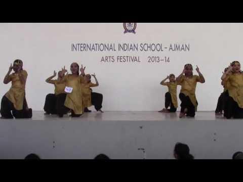 Bhumro Dance by IIS Students taught by Hazeena