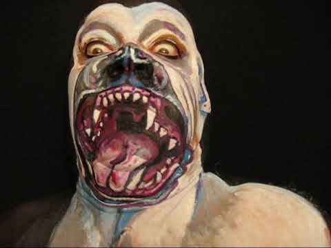 Rabid Pitbull!!! James Kuhn. Face Paint in Motion.
