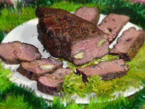 Запеченная говядина в духовке